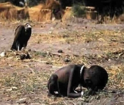 Pulitzer Prize Photo-Kevin Carter (photographer) who at 33 comitted suicide